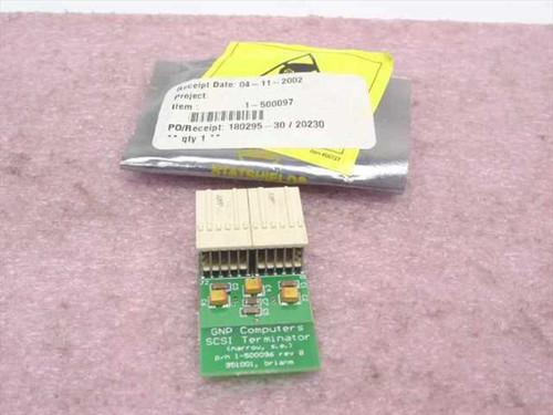 GNP PDSi cPCI CompactPCI SCSI Terminator 1-500097