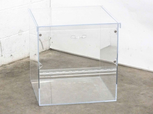 Acrylic 18.5x19.25x19.5 Desiccator Dry Box with 18x11 Magnetic Door