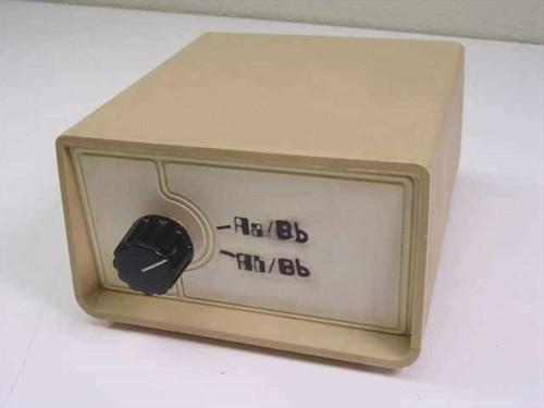 Aa Bb 25 Pin 2 way Data Transfer Switch 2 way switch