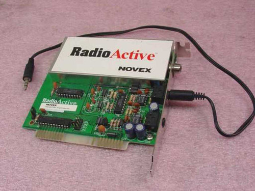 Novex RadioActive FM Stereo Board for PC (2.0)
