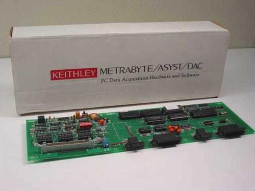 Keithley INTMDB-64 Metrabyte Metrabus Driver Controller Board
