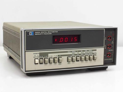 HP Digital AC/DC Multimeter 4.5-Digit 5-Function (3465A)