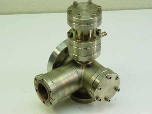 Generic 5-Way Vacuum Chamber Manifold - Stainless