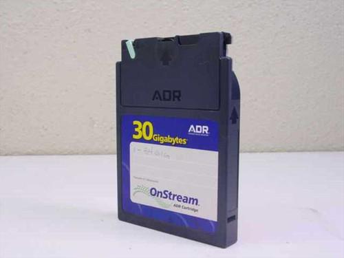 Advance Digital Recording OnStream 30 Gigabyte Data Cartridge ADR Cartridge
