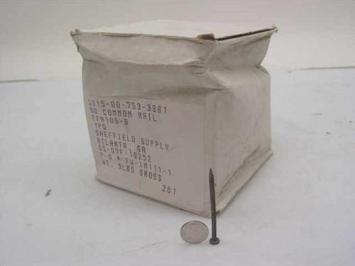 "Sheffield Supply Common 6D 2"" Nails 5lbs Box (5315-00-753-3881)"