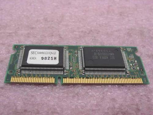 SEC 4MB SODIMM SGRAM Video Memory KMM965G511QNG0
