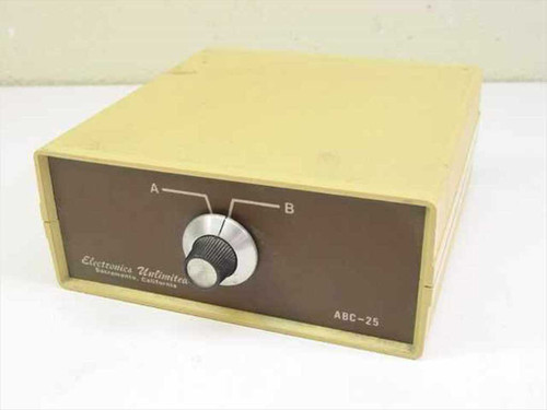Electronics Unlimited Data Switch ABC-25
