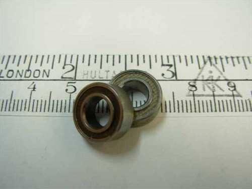 """Steel 1/4"""" Bore Ball Bearing 1/4"""" x 1/2"""" x 3/16"""""""