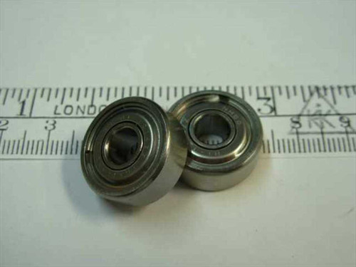 "Stainless Ball bearing 1/4"" x 3/4"" x 9/32"" (Steel)"