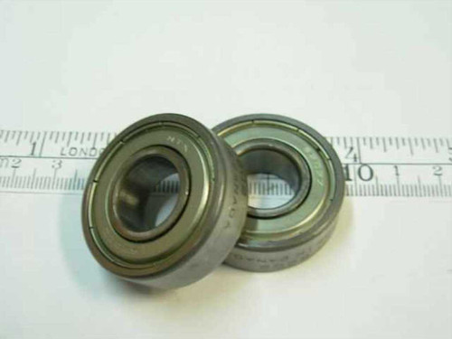 Steel 6200-2Z Ball Bearing 10x30x9mm 28000RPM