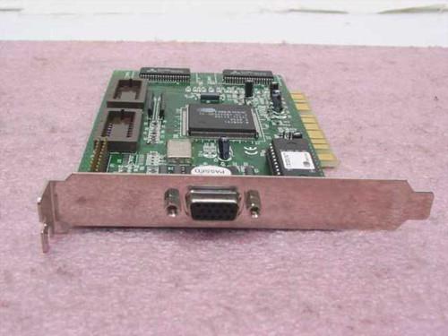 Cirrus Logic Video Card - PCI 1MB (PC15446SB3)