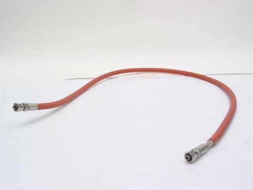 "Orange 48""& High Pressure Hose Compression Fittings (1/4"" Diameter)"