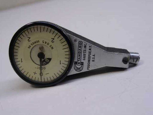 Standard Gauge Dial Indicator Series 66 No 45