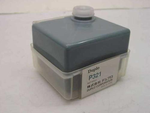 Duplo Ink Cartridge Cyan 600cc P321