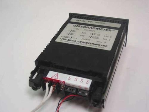 Omega Engineering Omegarometer Temperature Meter with Probe DP2000-R1