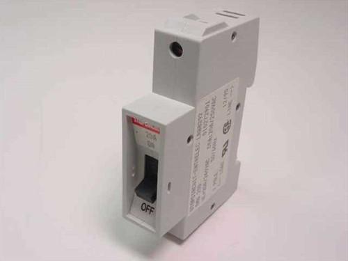 Entrelec Circuit Breaker, 20A, Rail, Time Delay (010272901)