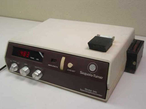 Sequoia-Turner Spectrophotometer (340)