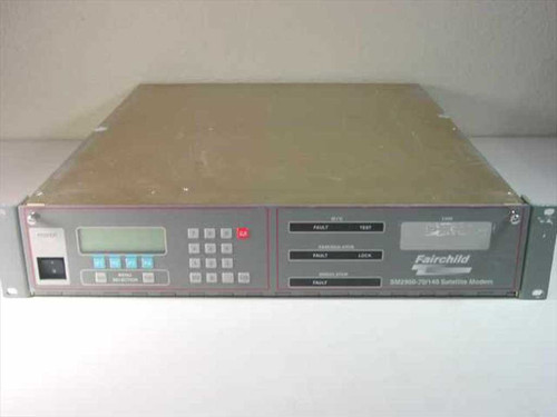 Fairchild SM2900 70 Mhz to 140 MHz Satellite Modem SM290