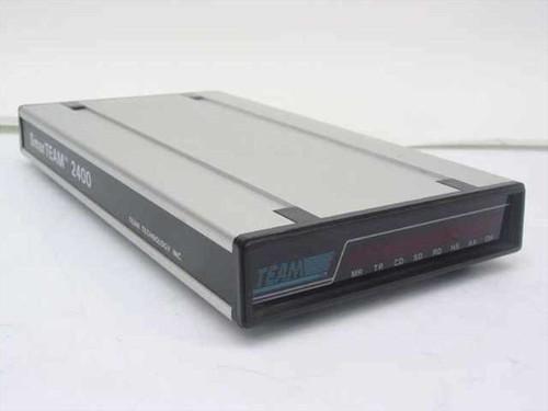 Team Technology SmarTEAM Data 2400 Baud Modem - no AC Adapter 2400