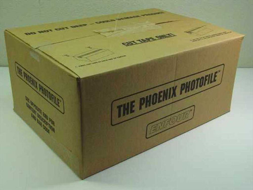 "Phoenix Photofile Case of 4""x6"" Photograph Organizers 10 per case (46100)"