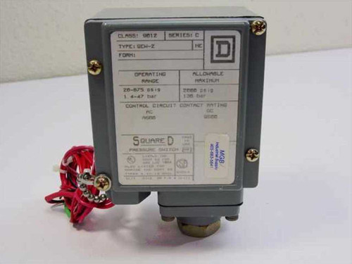 Square D Pressure Switch (9012 Series C)
