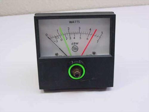 Varian Watts Meter Range 0-5 110641