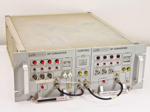 LNR Dual C- Band Upconverters Redundant w/ Control Switch UC6-D1