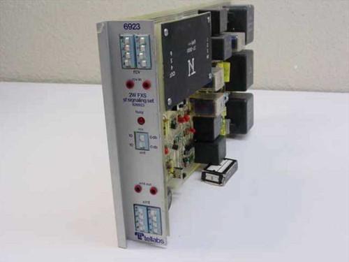 Tellabs 2W FXS Signaling Set ~V 6923