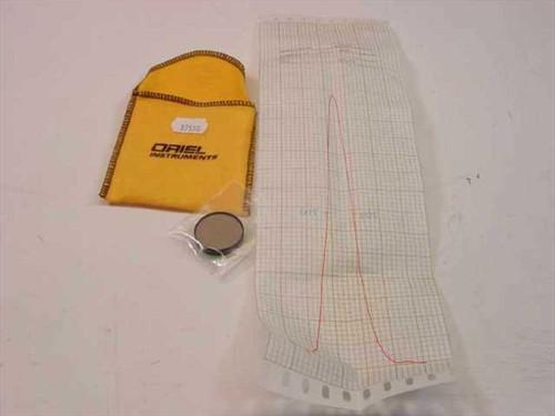 Oriel Instruments 600 nm Narrow band Filter 1 Inch Diameter 10BPF70- (57570)
