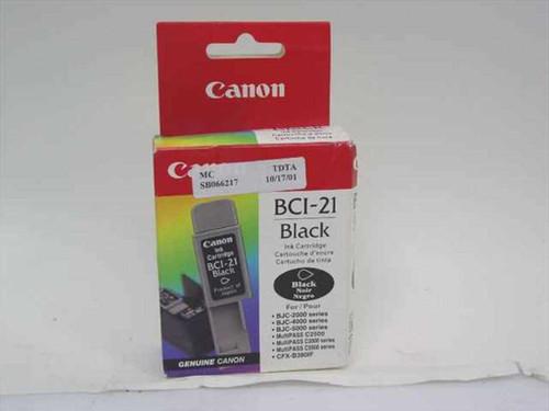 Canon Black Ink Cartridge (BCI-21)