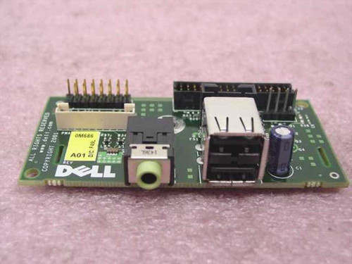 Dell I/O Front Panel Board compatible w/Optiplex GX270 (0M686)