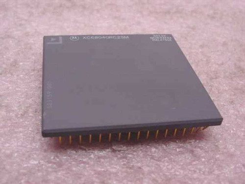 Motorola 25 MHz 68040 179 pin ceramic PGA (XC68040RC25M)