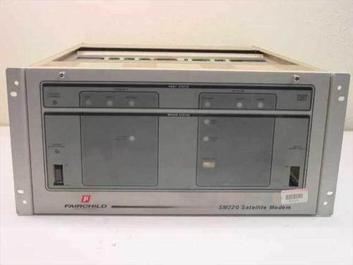 Fairchild Satellite Modem PN 981009-000 2.2 MB Transfer Rate SM220 Rack