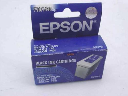 Epson Black Ink Cartridge for Epson Stylus Color 740, 74 (S020189)