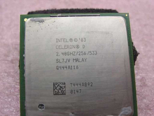 Intel P4 2.40 GHz Celeron Socket 478 CPU Processor (SL7JV)
