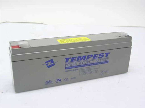 Tempest 12V, 2.3Ah Rechargeable Battery TR2.3-12A