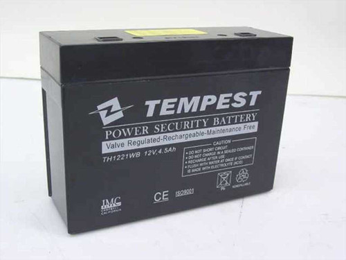 Tempest 12v, 4.5Ah HC1217W Battery - RBC10 RBC21 (TH1221WB)