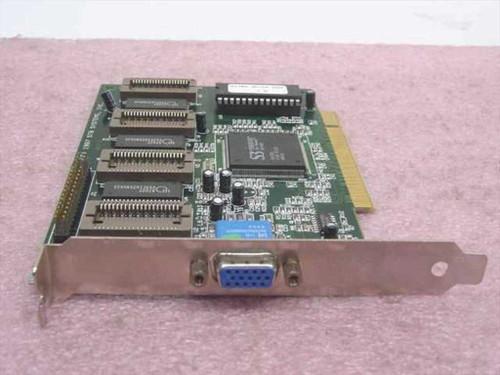 STB Systems PCI Video Card S3 Virge/GX 05A4BB (1X0-0491-303)