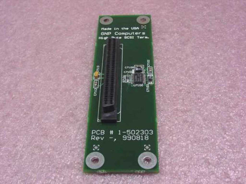 GNP Computers PDSi High Byte SCSI Terminator 1-502303