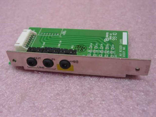 HP Audio Riser Card (5064-8577)