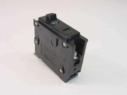 Westinghouse Type BA 1 Pole 15 Amp Circuit Breaker MJ-1588