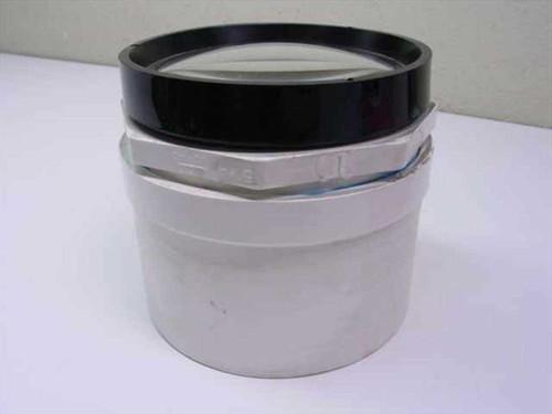 PVC Pipe Acrylic Lens - Focal Length: 47cm Aperture: 12.5cm Diameter: 13.2cm