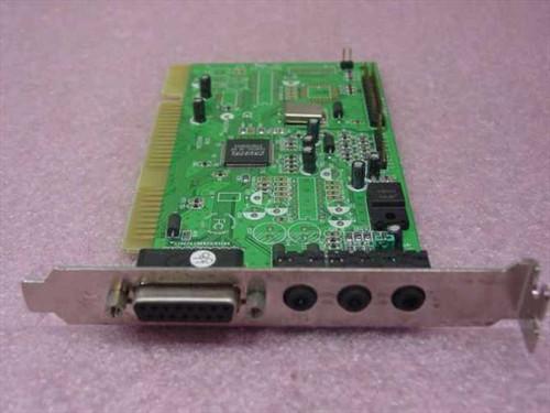 Crystal 3D ISA Sound Card PT-2318-4