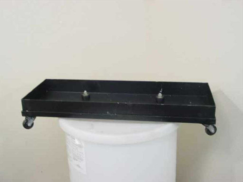 Dolly Vacuum Pump Dolly - Containment Cart 4 Wheel 34x13x6