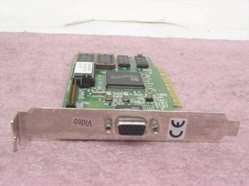 ATI Mach64 PCI 2MB Video Card 1023210220