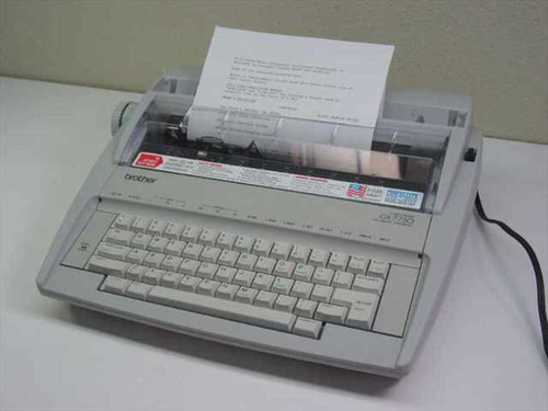 Brother Correctronic Electronic Typewriter - Missing Top P (GX-7750)