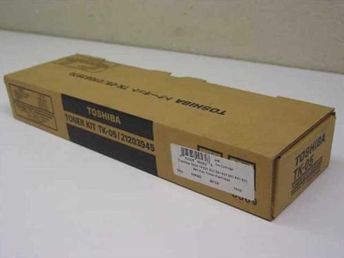 Toshiba Toner Kit for TF-521 / TF-531 / TF-551 Fax Machine 01083970