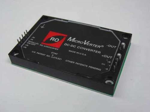 RO Associates MicroVerter DC-DC Converter 28VDC to 24VDC (uV28-24)