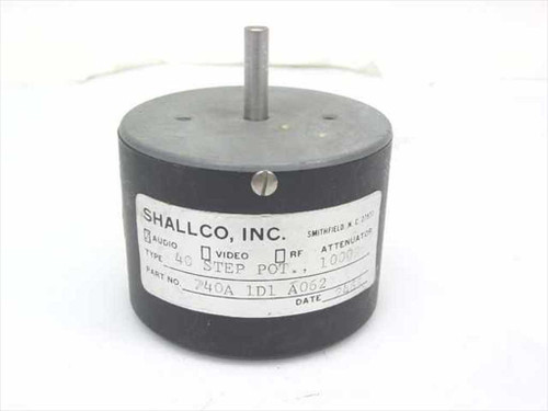 Shallco Audio Attenuator 990 Ohms (740A 1D1 A062)