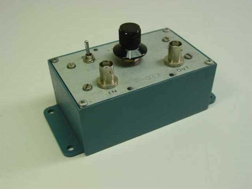 Pomona Electronics Band Pass Filters 1.25MHZ